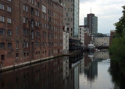 Weniger bekannte Ecke von Hamburg