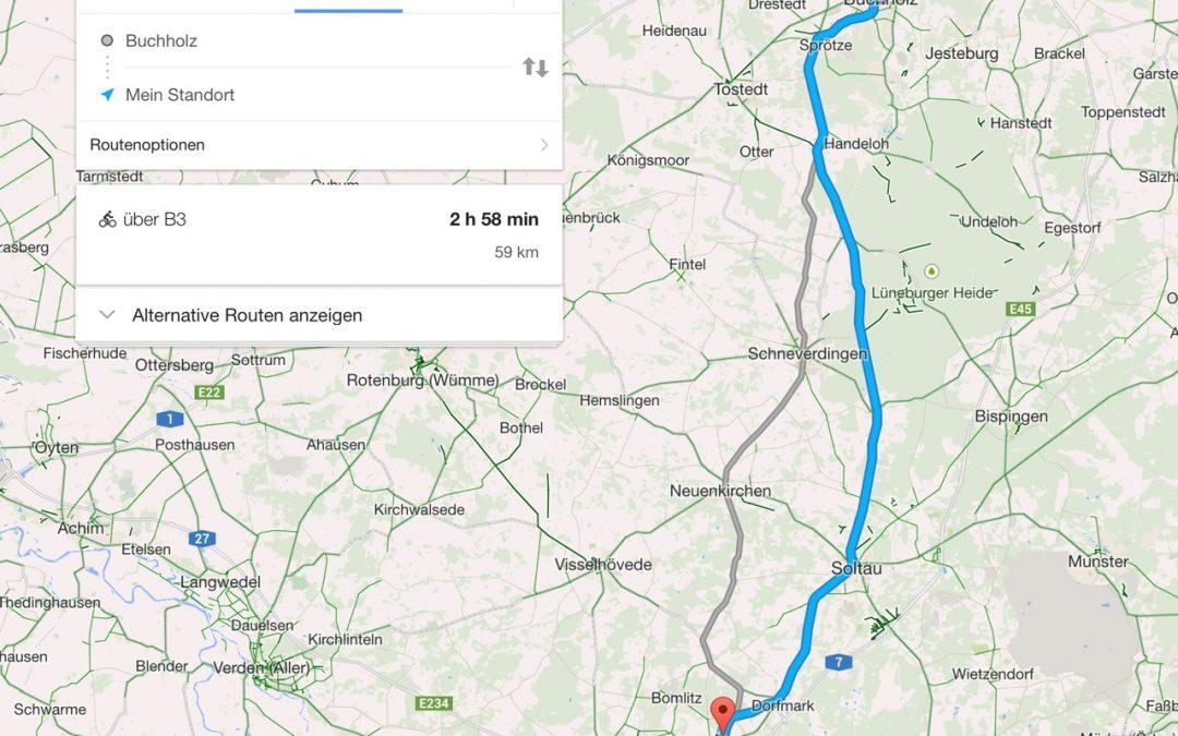 Tag 4: Buchholz in der Nordheide nach Bad Fallingbostel